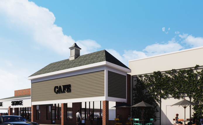 Rendering of Cafe at Marlton Crossing